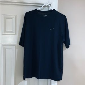 Nike-FIT navy blue tee